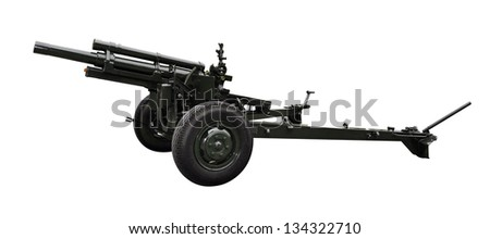 Cannon - Isolated with Clipping Path - stock photo