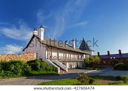Cannon yard, southern building in the territory of the Kazan Kremlin