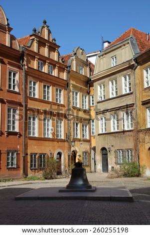 Canonicity Square, Warsaw, Poland - stock photo