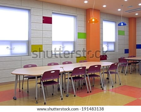 Canteen eat area