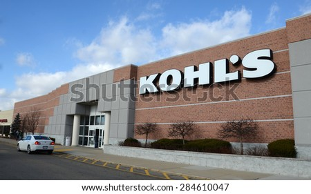 CANTON, MI - DECEMBER 31:  Kohl's, whose Canton location is shown on December 31, 2014, has over 1,000 stores.
