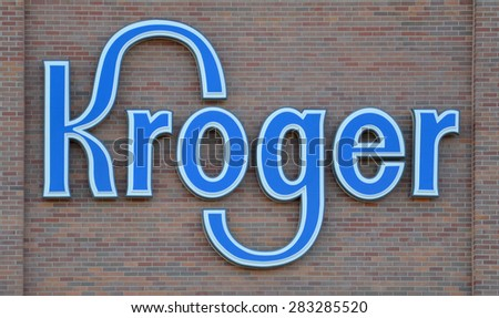CANTON, MI - DECEMBER 29: Kroger, whose Canton store logo is shown on September 7, 2014, has over 2,600 stores in 31 states.