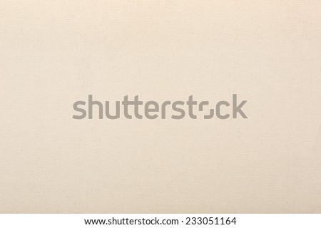 Canvas natural beige texture background - stock photo