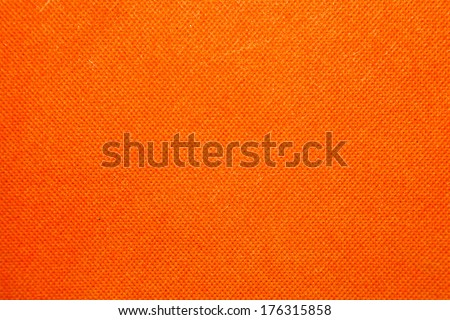 Canvas orange background - stock photo