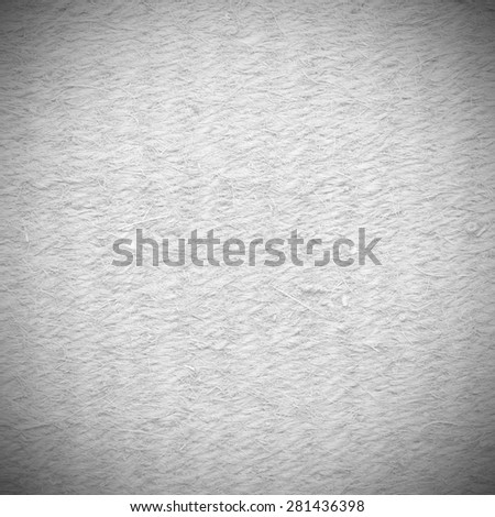 canvas paper background texture delicate fabric pattern, black and white background - stock photo
