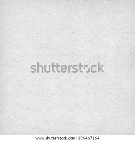 Canvas paper white texture with delicate vignetting - stock photo