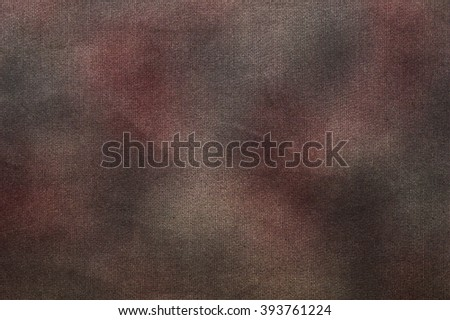 Canvas texture vignette background - stock photo