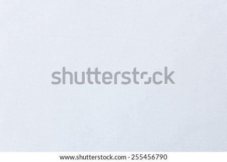 Canvas white background - stock photo