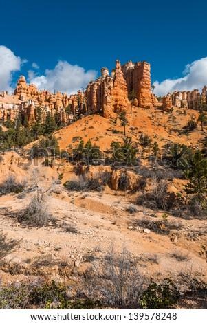 Canyon rock at Utah - stock photo