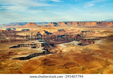 Canyonlands National Park - stock photo