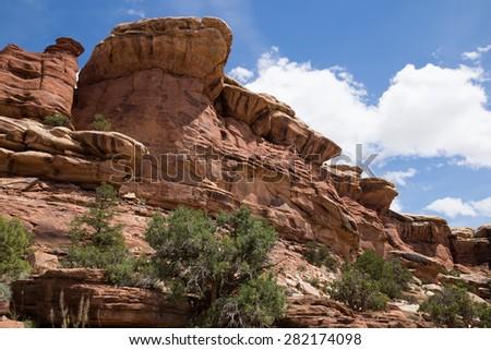 Canyonlands National Park, Utah. - stock photo