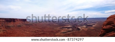 Canyonlands National Park Utah - stock photo