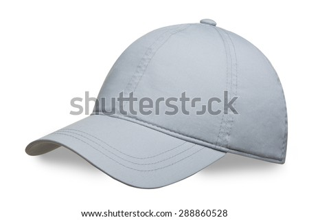 cap on a white background - stock photo