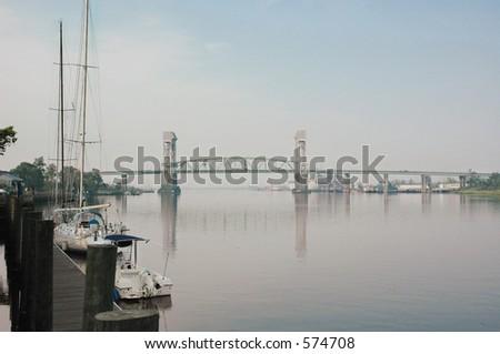 Cape Fear River - stock photo