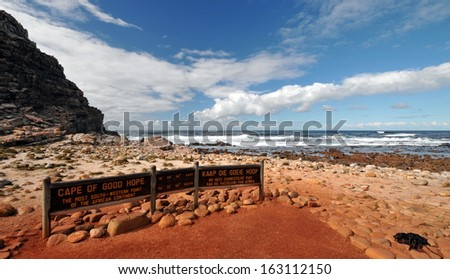 Cape of Good Hope - stock photo
