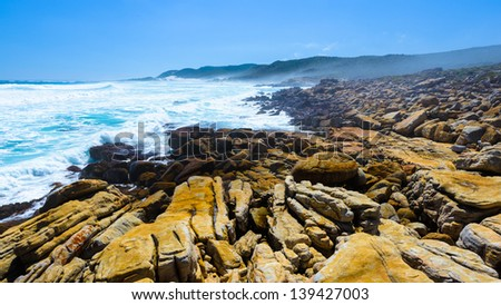Cape of Good Hope, the southern tip of Africa