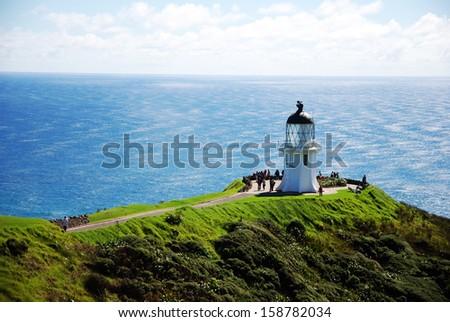 Cape Reinga in New Zealand    - stock photo