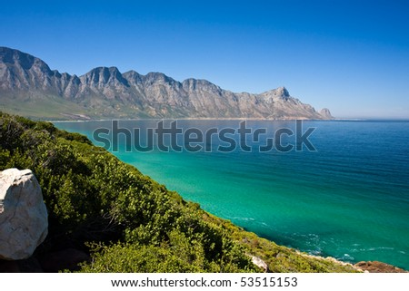 Cape Town South Africa Landscape - stock photo