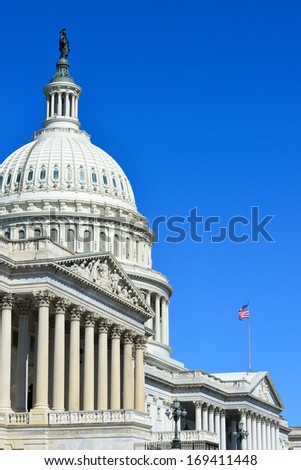 Capitol Building in Washington DC - United States