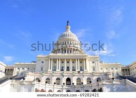Capitol Hill Building ,Washington DC. - stock photo