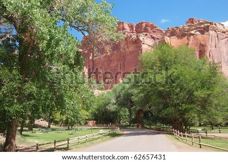 Capitol Reef National Park - stock photo