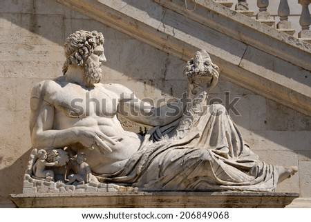 Capitoline Hill, Rome Italy