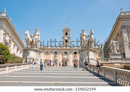 Capitoline, Rome - stock photo