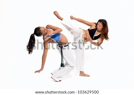 Capoeira - stock photo