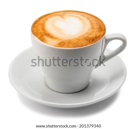 Cappuccino.  - stock photo