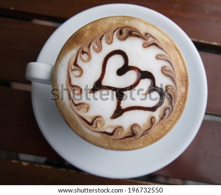 Cappuccino for lover