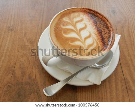 Cappuchino - stock photo