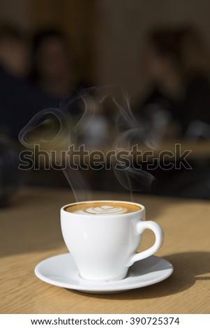 cappucino - stock photo