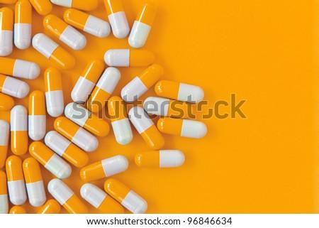 capsule pills - stock photo