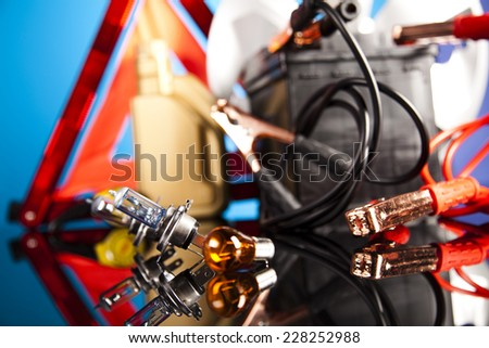 Car Accessories - stock photo