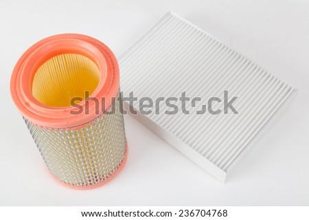 Car air filters - stock photo