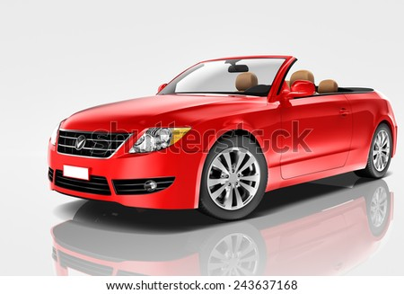 Car Automobile Contemporary Drive Driving Vehicle Transportation Concept - stock photo
