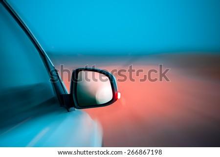 CAR BACKGROUND - stock photo