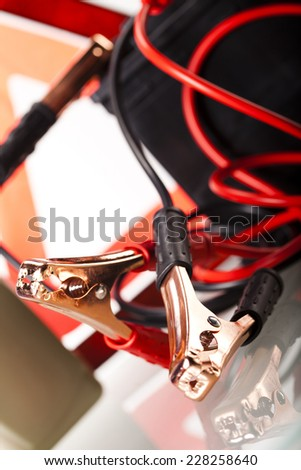 Car battery  - stock photo
