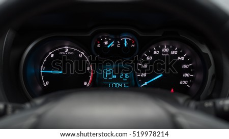 Car Dashboard.