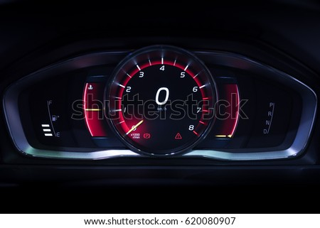 Car Dashboard Lights Stock Images RoyaltyFree Images Vectors - Car image sign of dashboardcar dashboard icons stock photospictures royalty free car