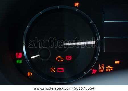 Instrument Cluster Stock Images RoyaltyFree Images Vectors - Car image sign of dashboardcar dashboard icons stock photospictures royalty free car