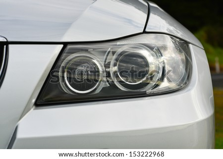 Car detail - stock photo