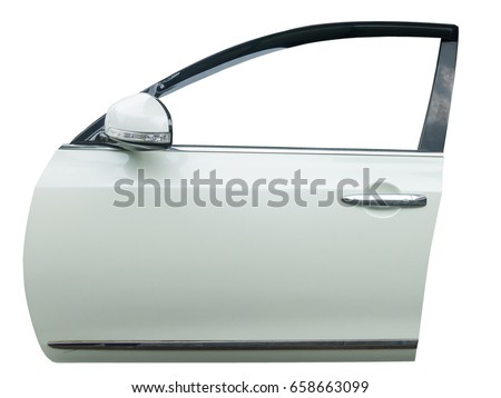 car door isolated on white background with clip path  sc 1 st  Shutterstock & Car Door Isolated On White Background Stock Photo (Royalty Free ...