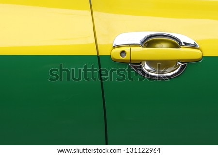 Car doors. - stock photo