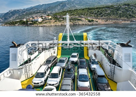 Car Ferry Stock Images Royalty Free Images Vectors Shutterstock