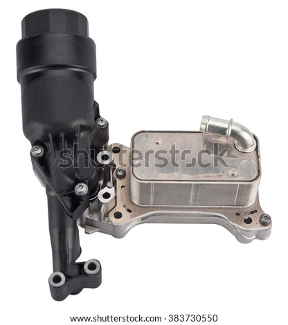 Car filter cover - stock photo