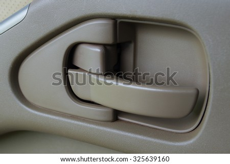 car handle door