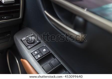 Car Interior Control On Door Panel Stock Photo 453099640 Shutterstock