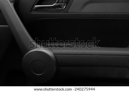 car interior details - stock photo
