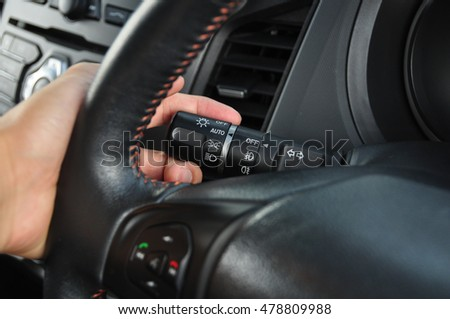 hands asian man on steering wheel stock photo 604836851 shutterstock. Black Bedroom Furniture Sets. Home Design Ideas